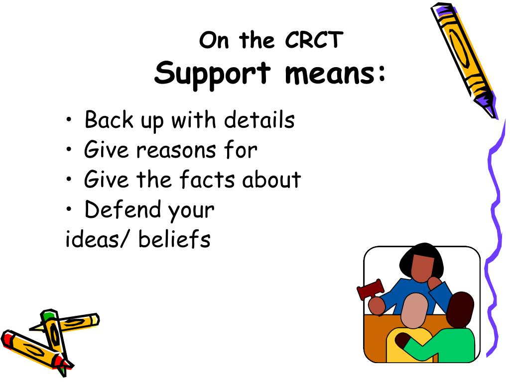 On the CRCT