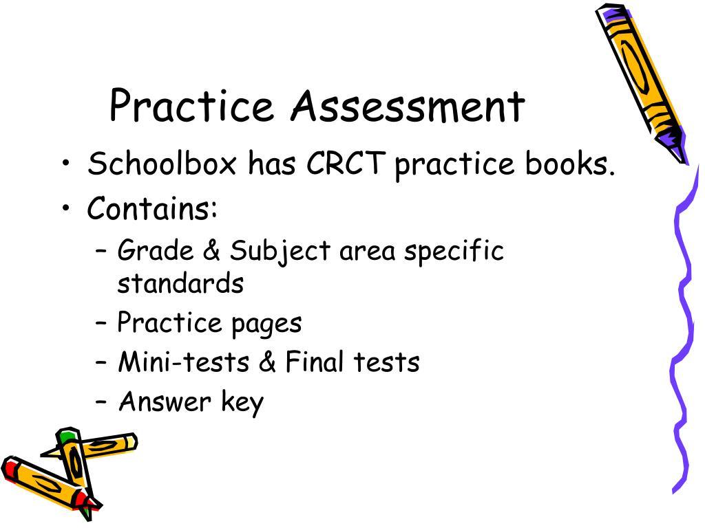Practice Assessment