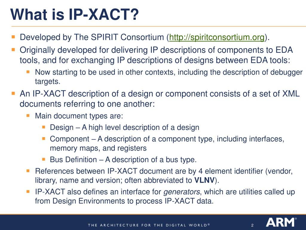 What is IP-XACT?
