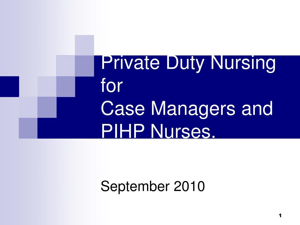 Private Duty Nursing for