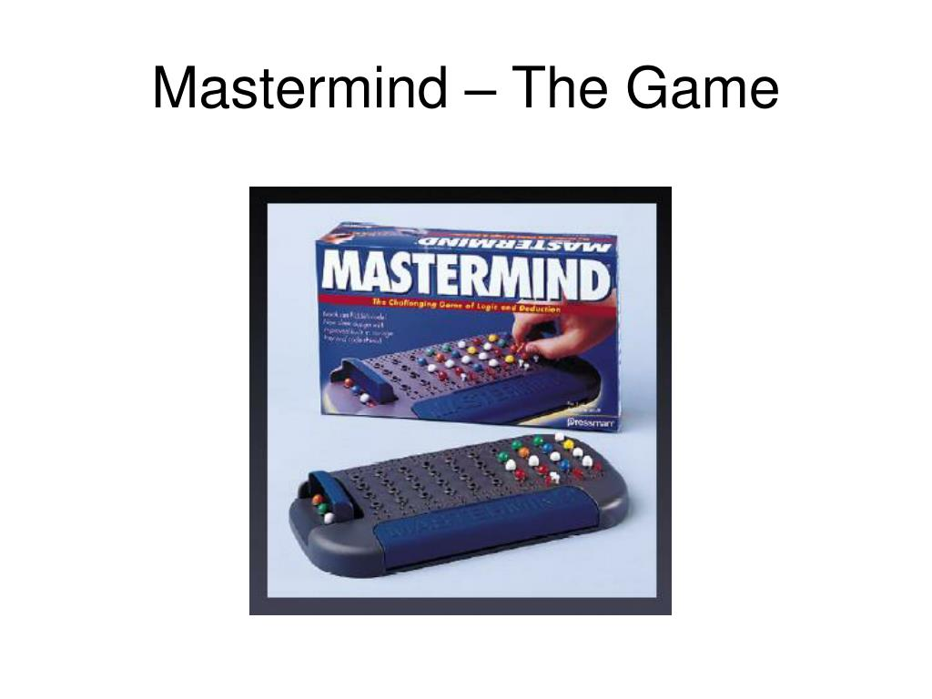 Mastermind – The Game