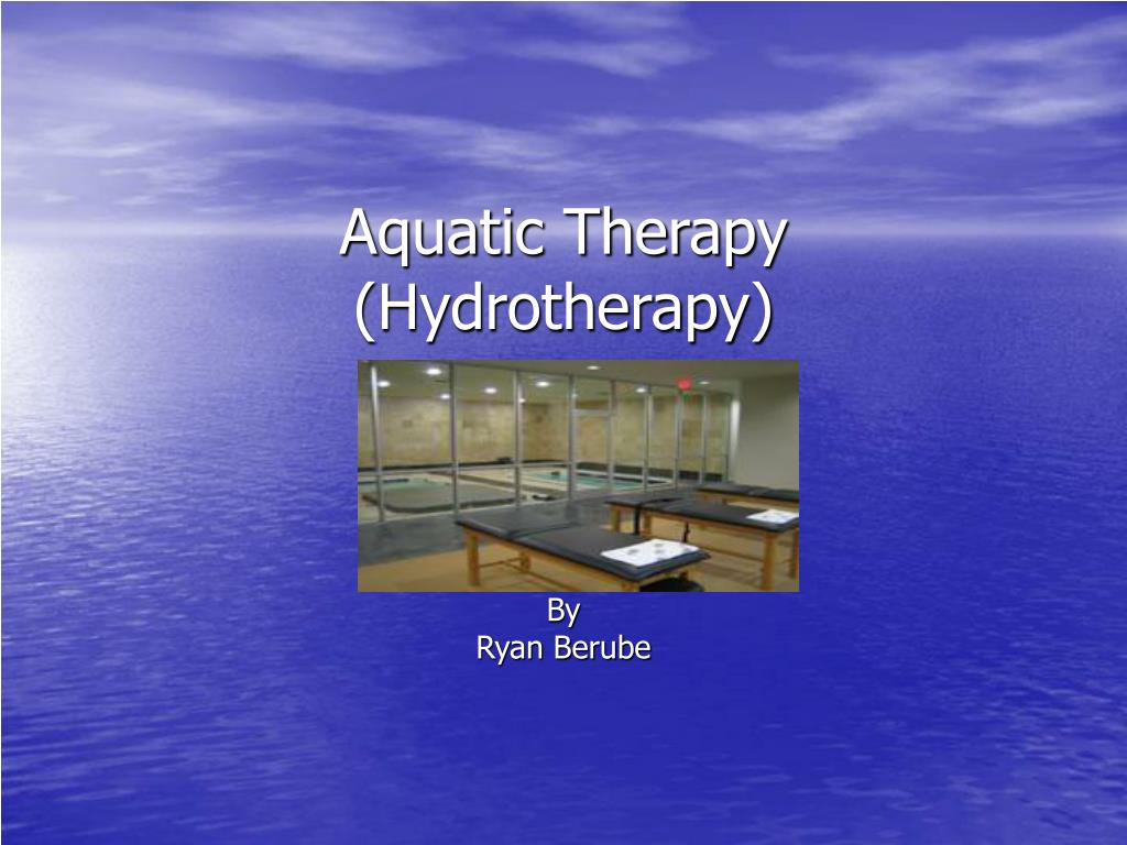 aquatic therapy hydrotherapy