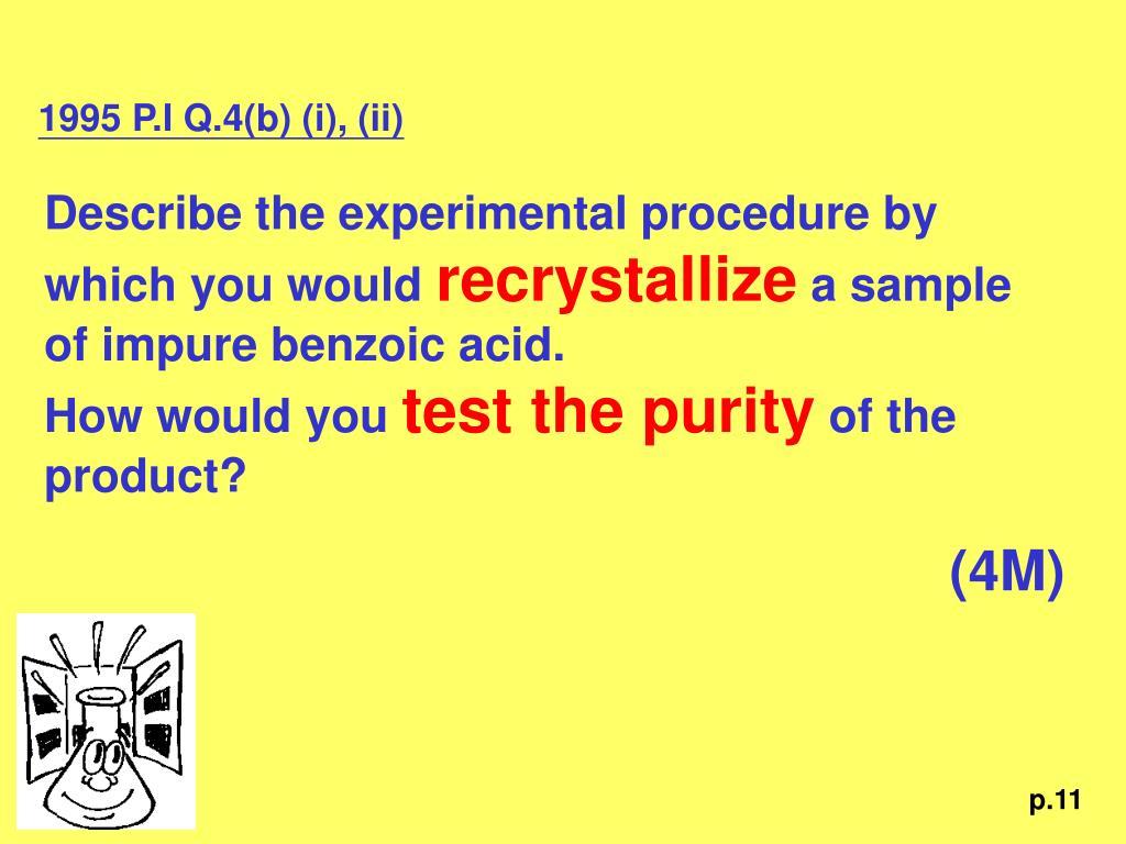 1995 P.I Q.4(b) (i), (ii)
