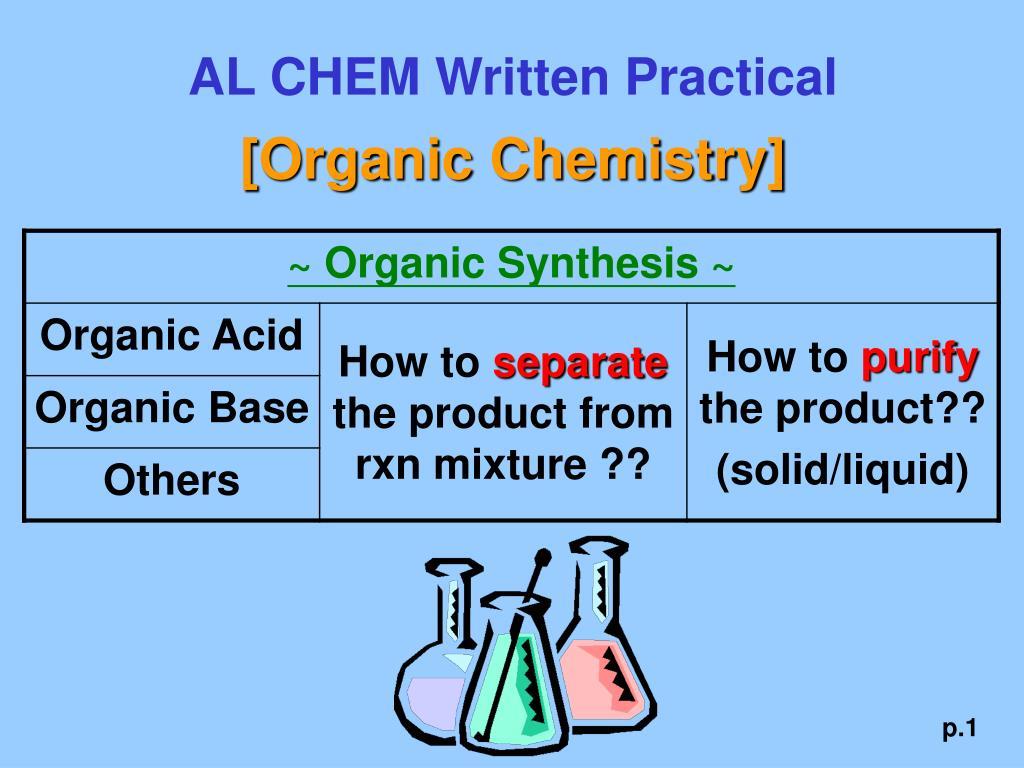 AL CHEM Written Practical