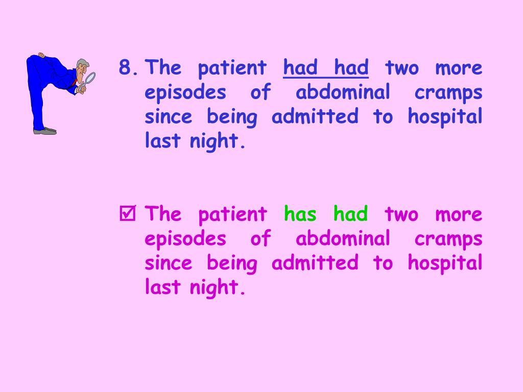 8.The patient