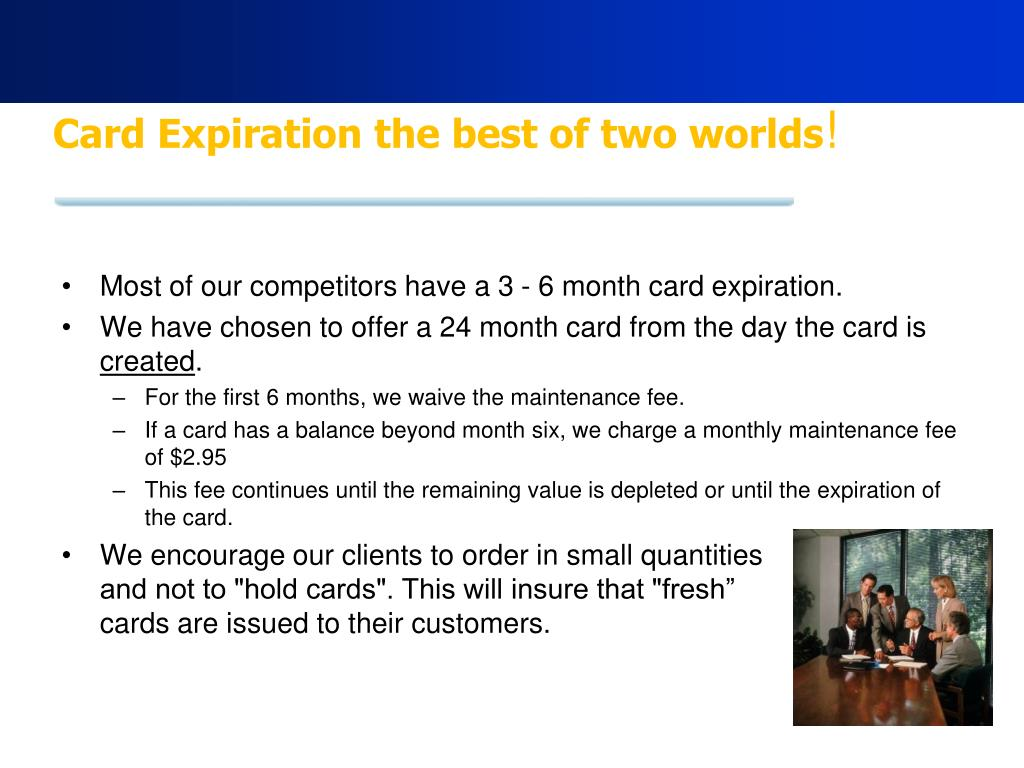 Card Expiration the best of two worlds