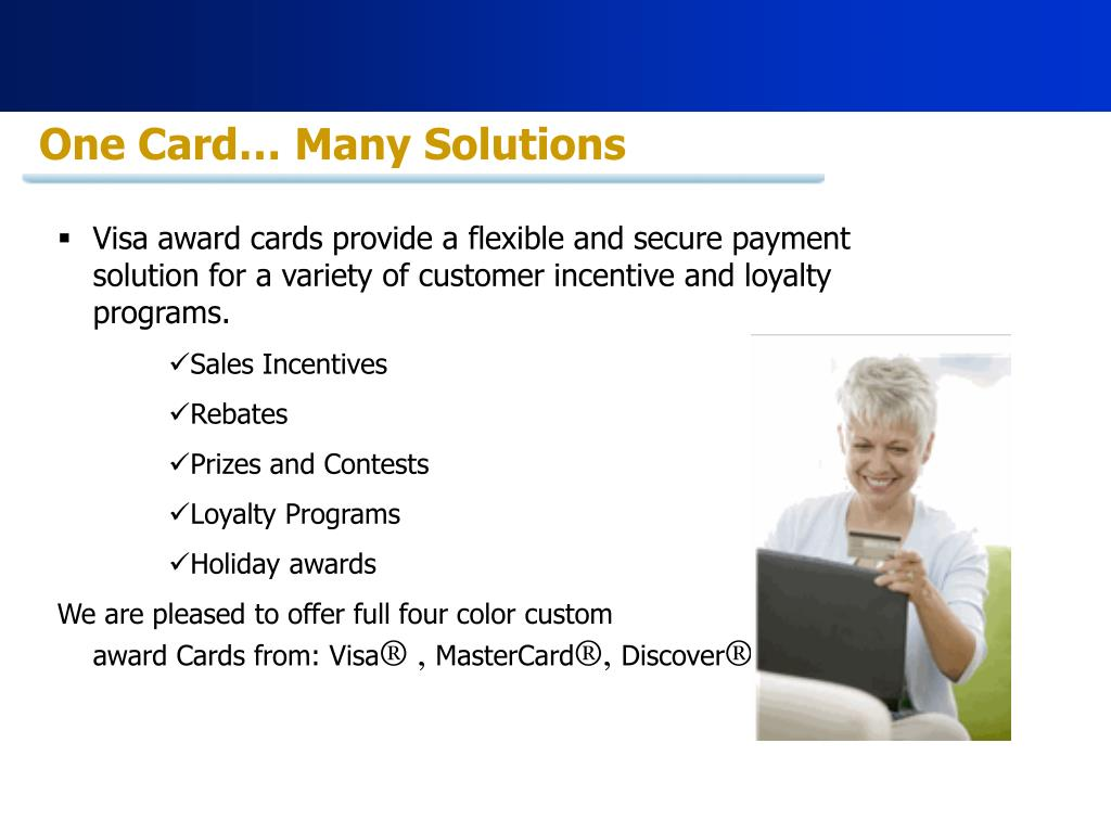 One Card… Many Solutions