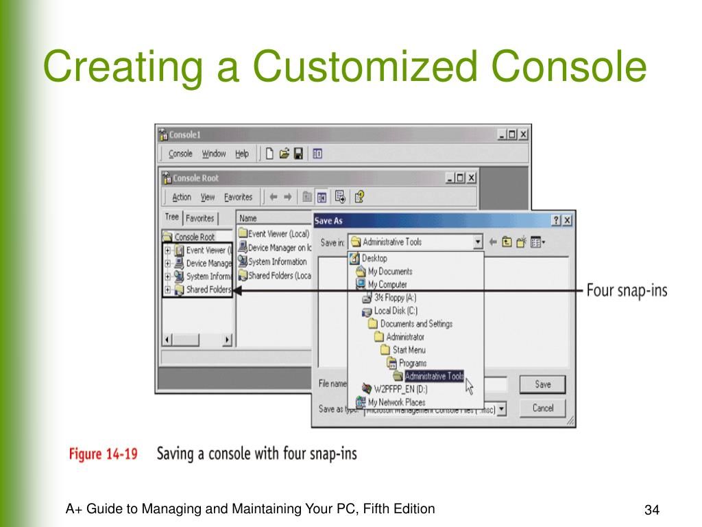 Creating a Customized Console