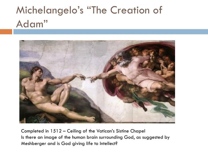 Michelangelo s the creation of adam