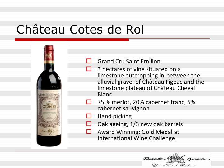 Château Cotes de Rol