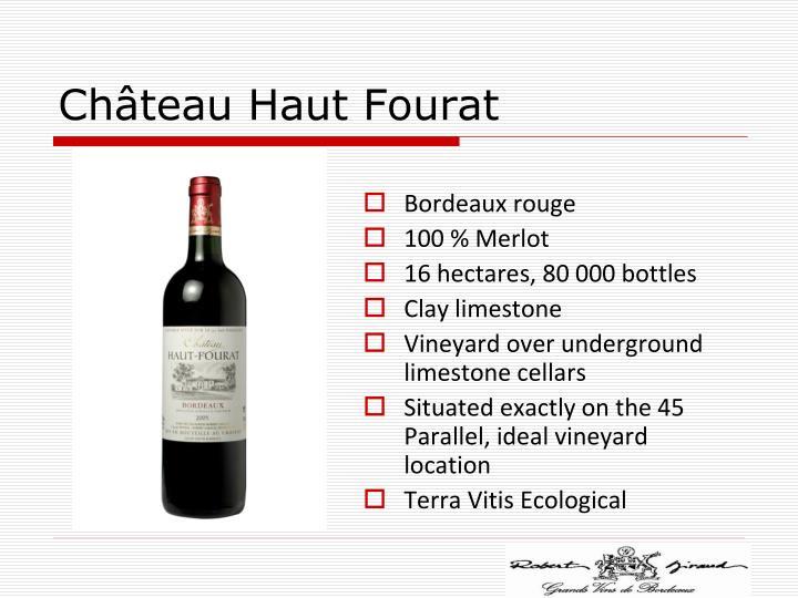 Château Haut Fourat