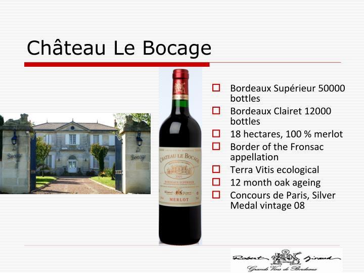 Château Le Bocage