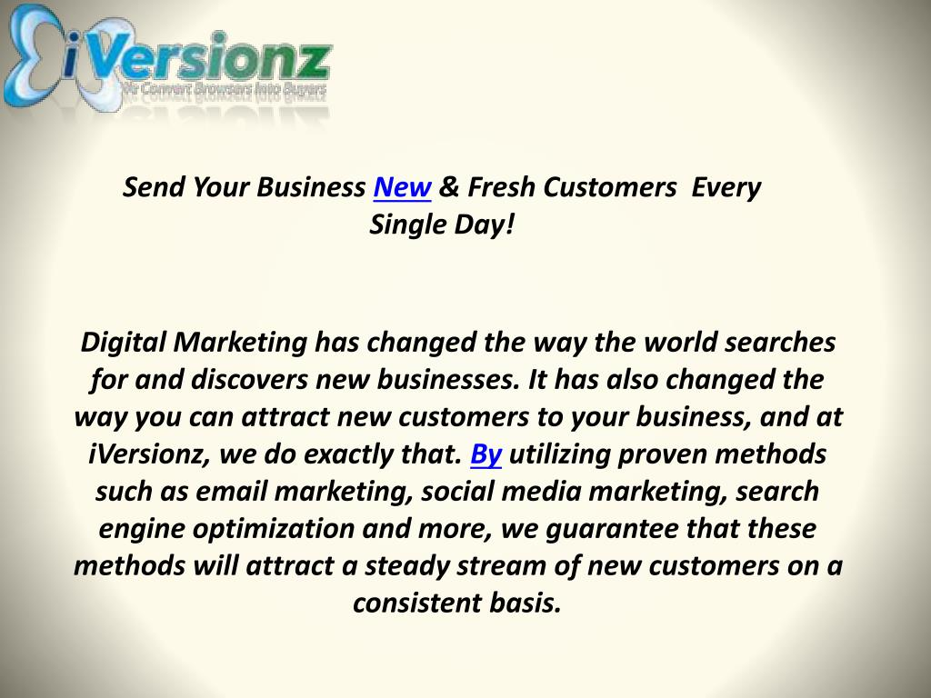 Send Your Business