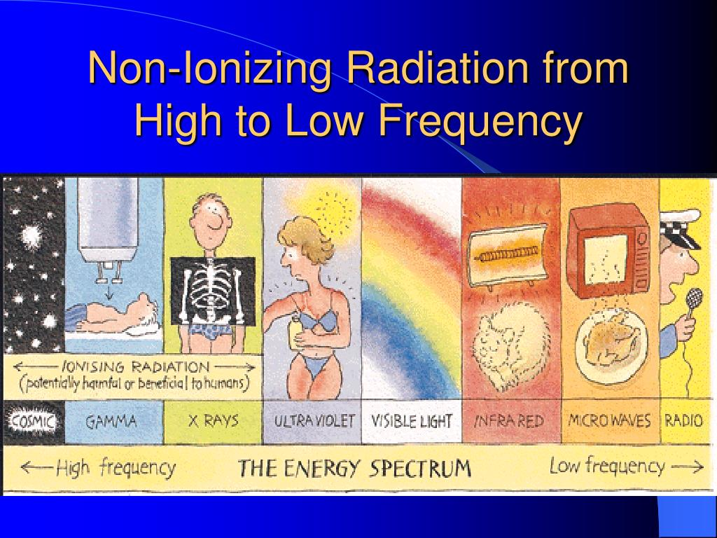 Non-Ionizing Radiation from High to Low Frequency