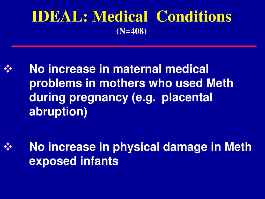 IDEAL: Medical  Conditions