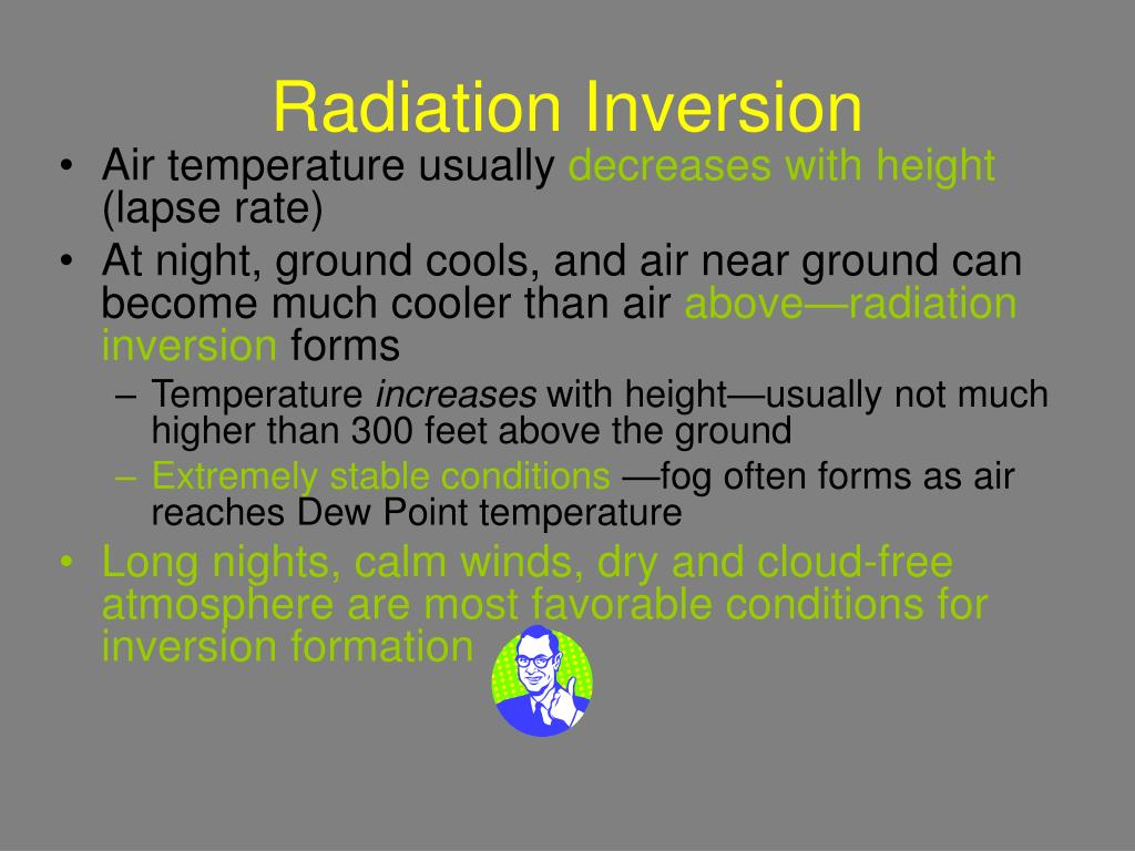 Radiation Inversion