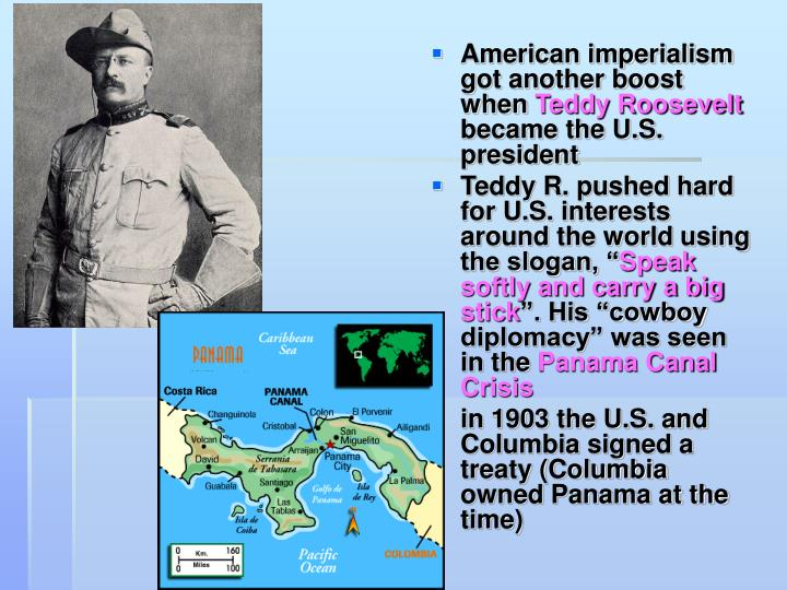 American imperialism got another boost when