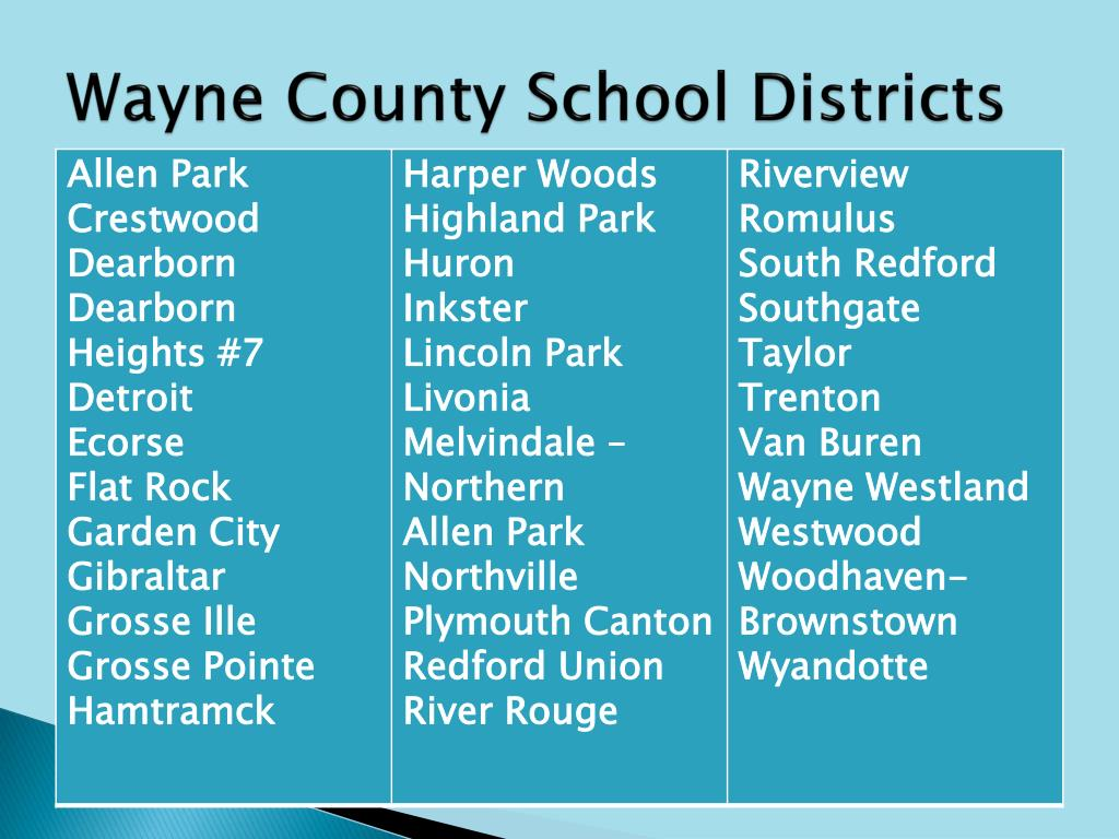Wayne County School Districts