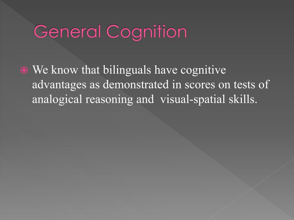 General Cognition