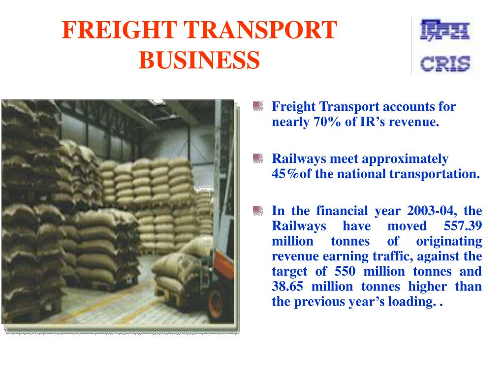 FREIGHT TRANSPORT BUSINESS
