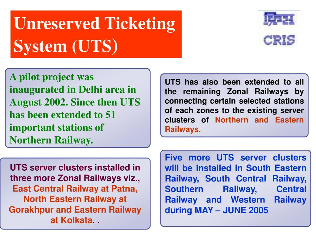 Unreserved Ticketing
