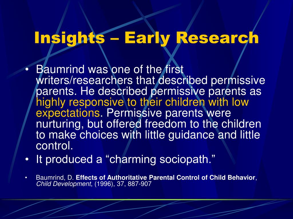 Insights – Early Research