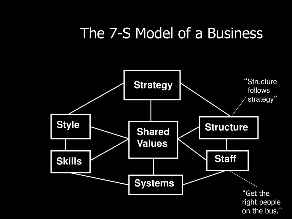 The 7-S Model of a Business