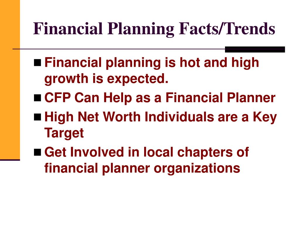Financial Planning Facts/Trends