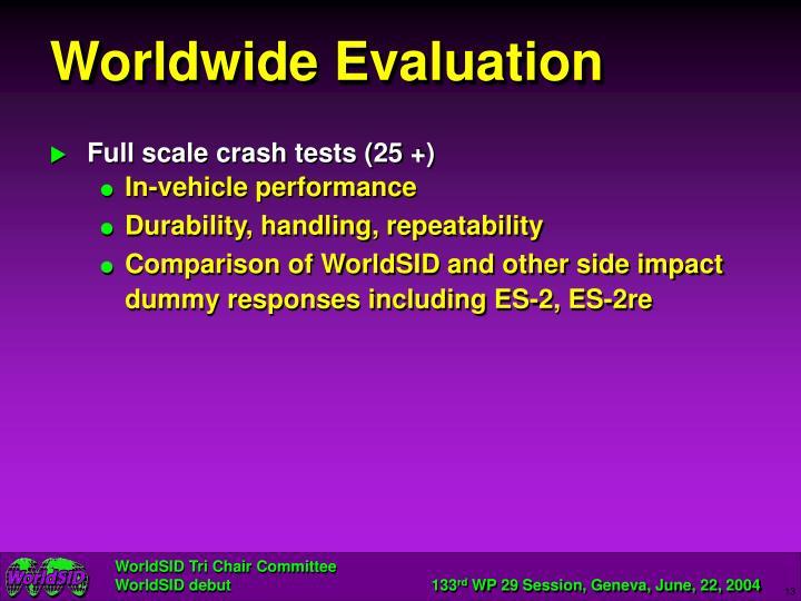 Worldwide Evaluation