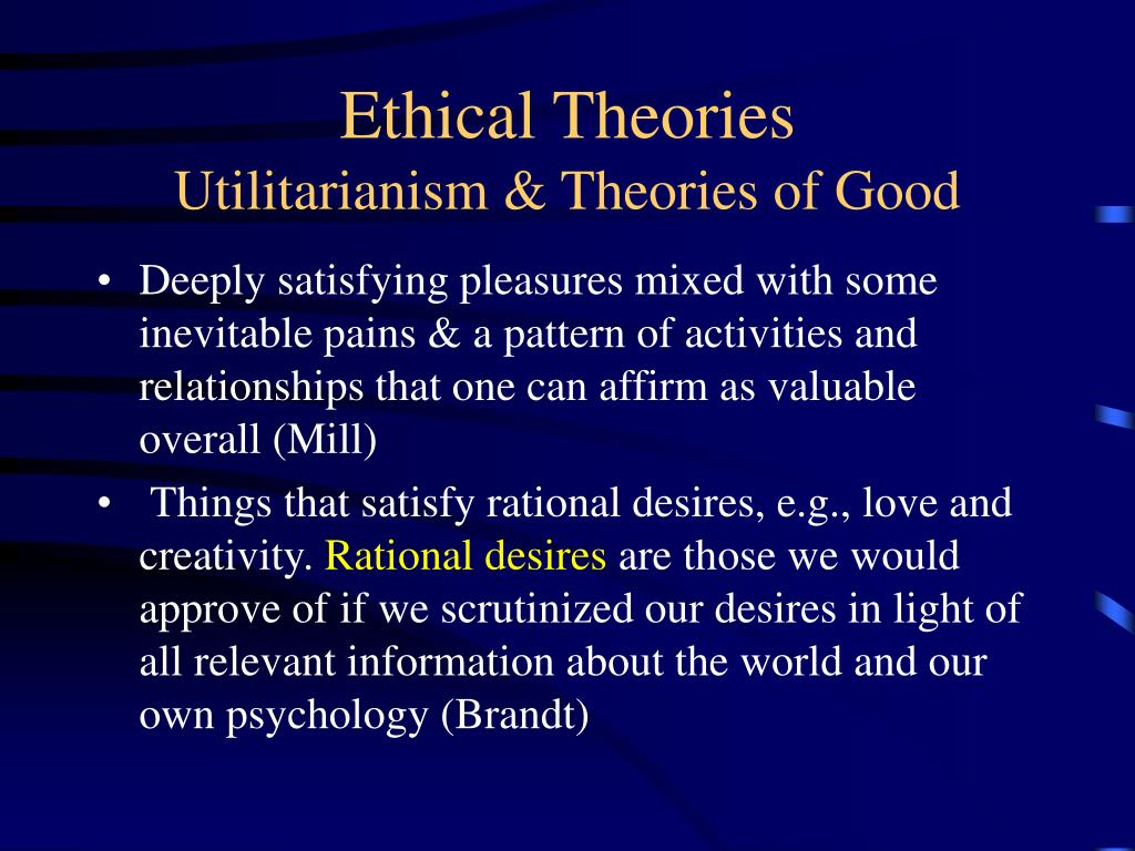 an analysis of utilitarianism an its views on the importance of human life Theory of utilitarianism and the innocent baystander - the ultimate desire of humanity and the focal point of human endeavor has been that elusive beacon of life that flutters, flickers, teases but pleases only a few.