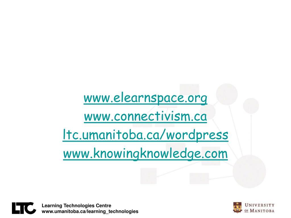 www.elearnspace.org
