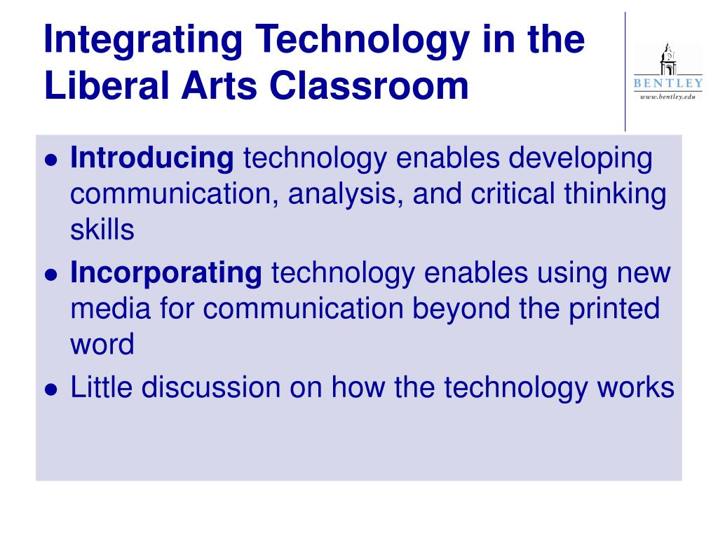 Integrating Technology in the