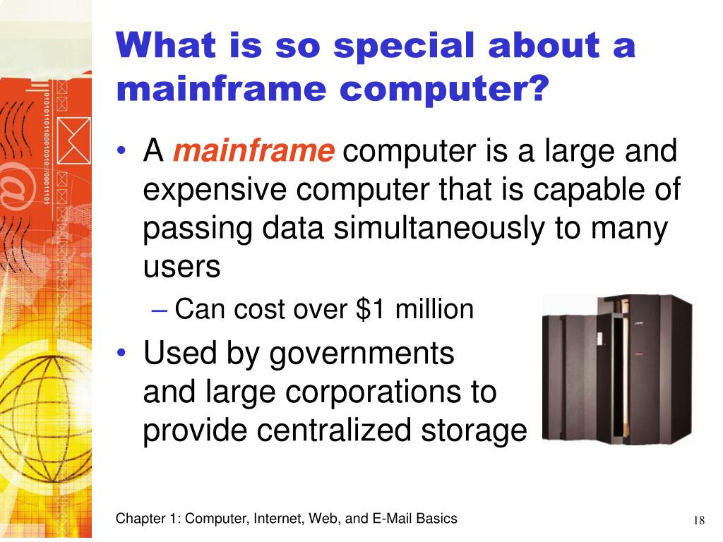 What is so special about a mainframe computer?