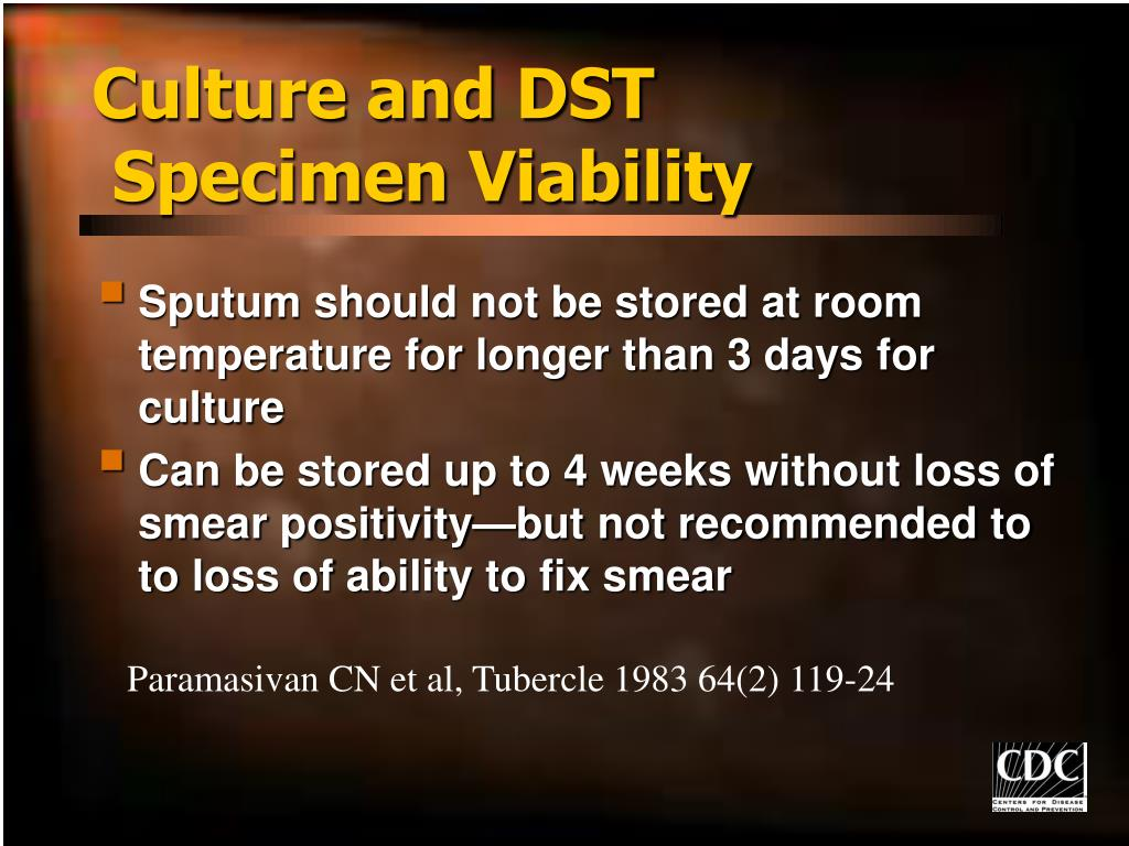 Culture and DST