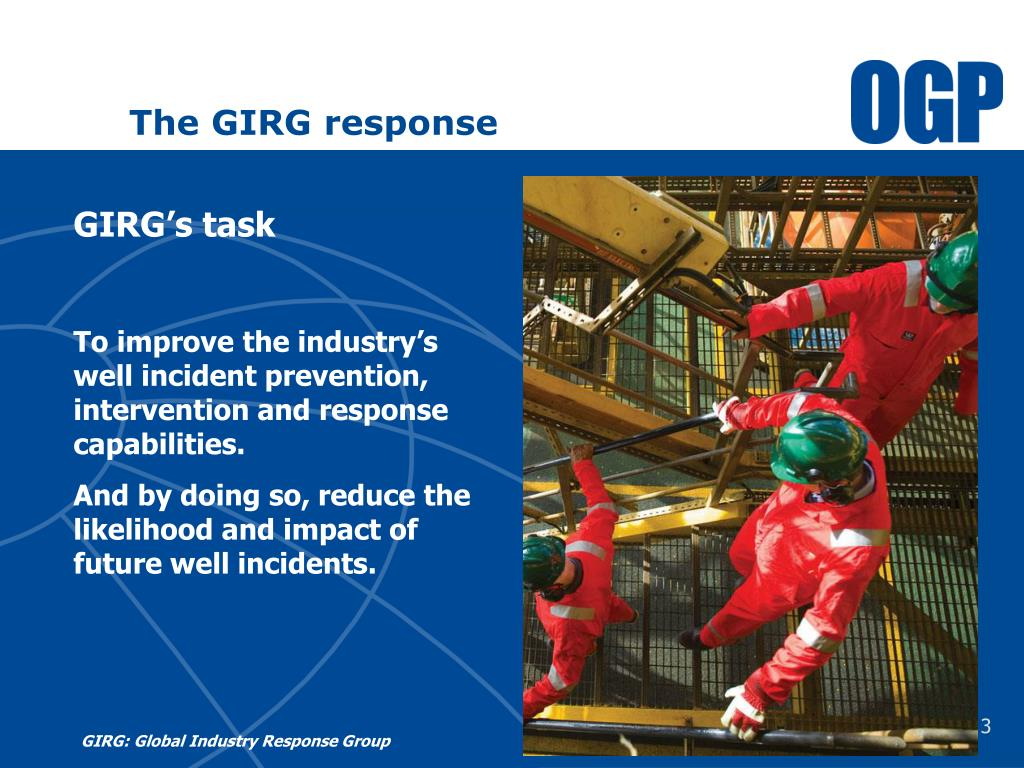 The GIRG response