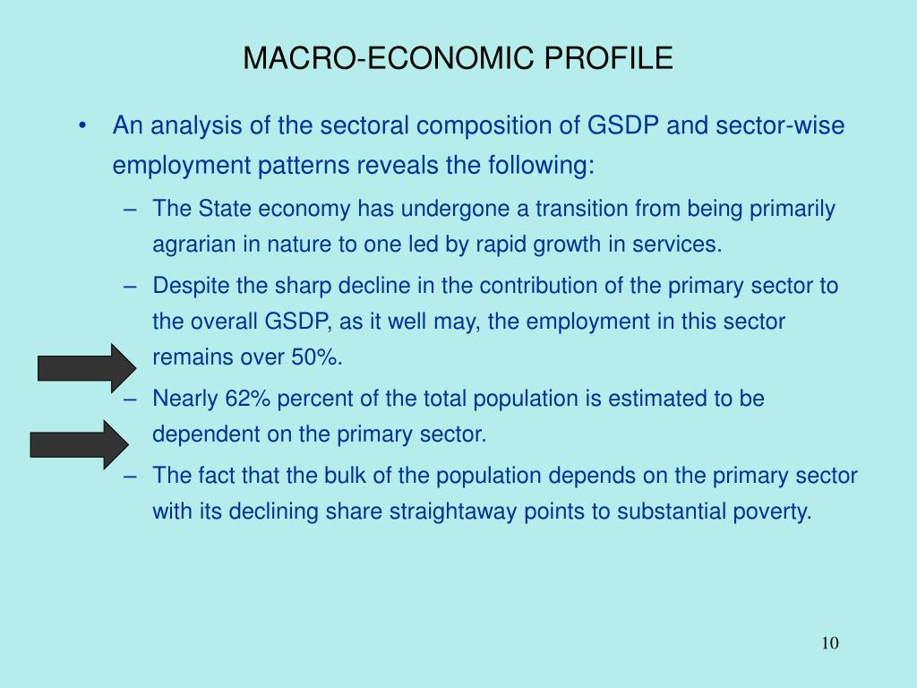 MACRO-ECONOMIC PROFILE