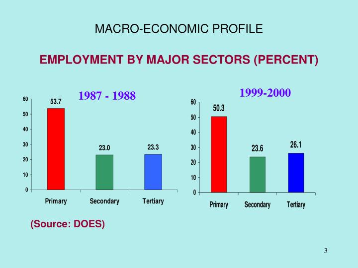Macro economic profile3