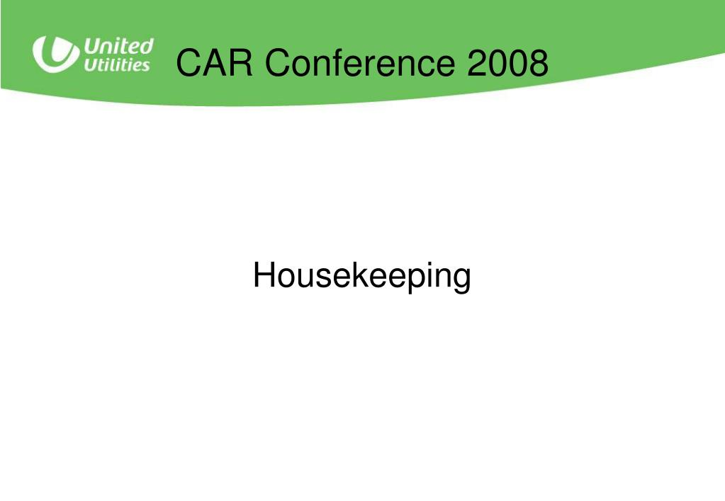 CAR Conference 2008