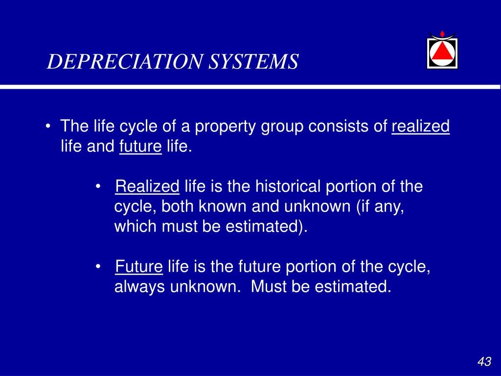DEPRECIATION SYSTEMS