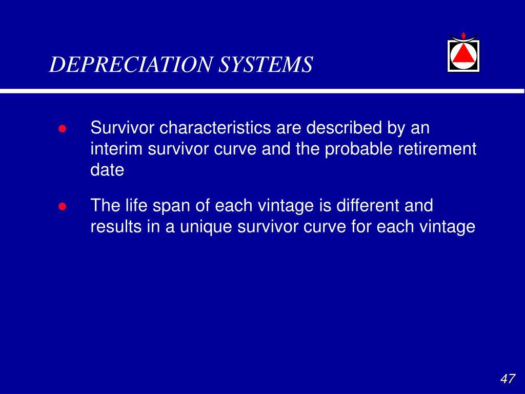 DEPRECIATION SYSTEMS