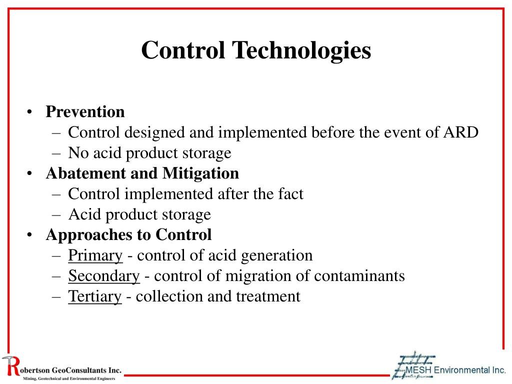 Control Technologies