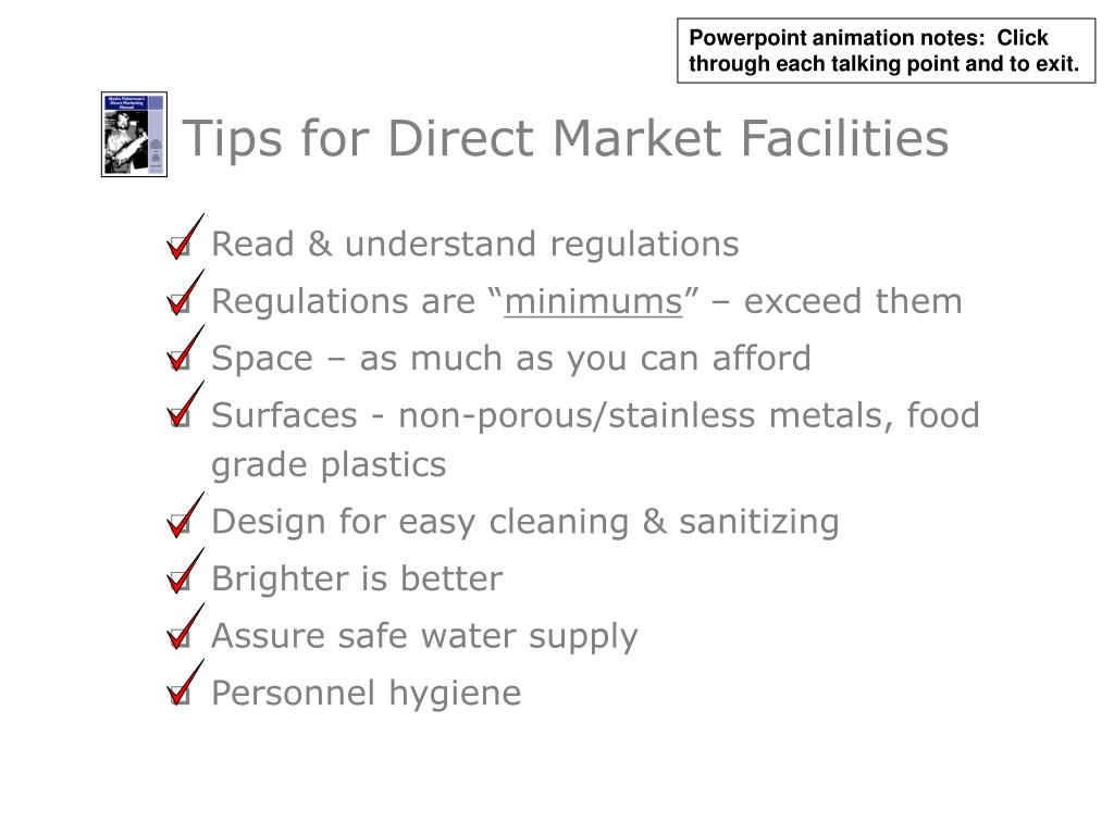 Tips for Direct Market Facilities