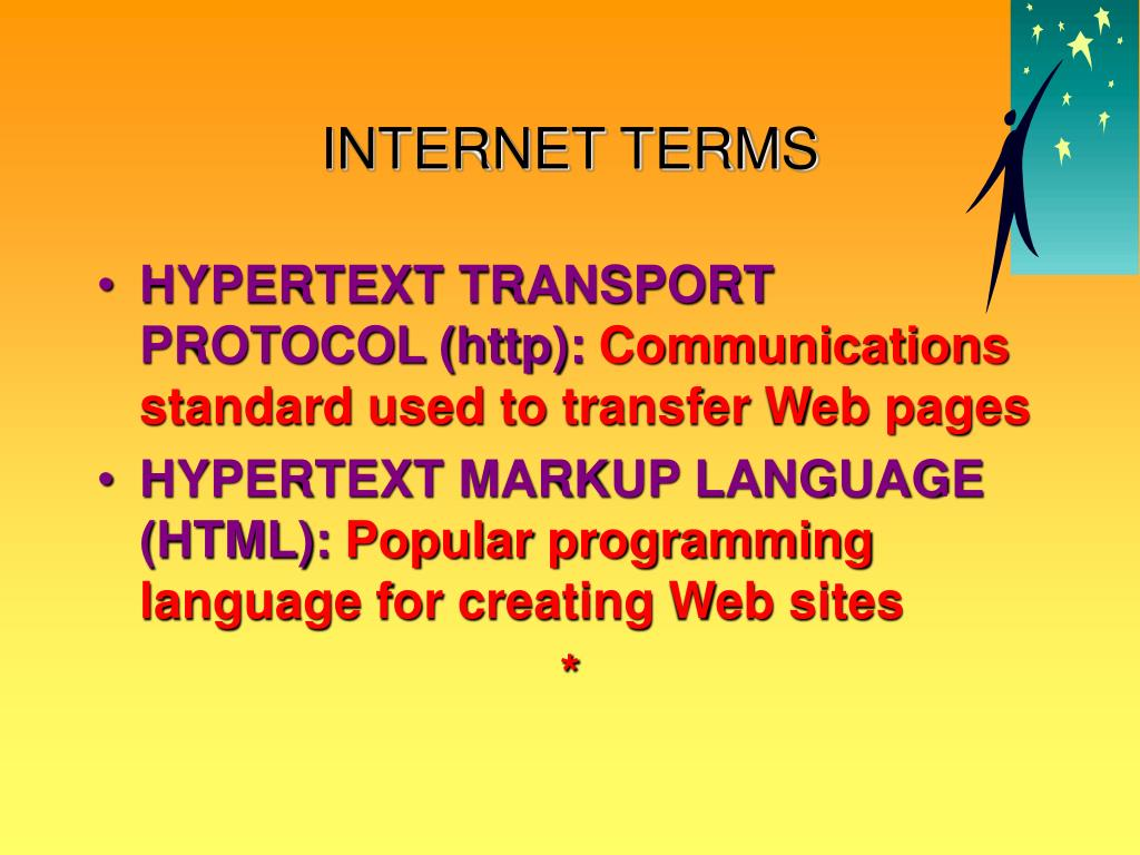 INTERNET TERMS