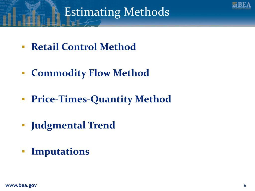 Estimating Methods