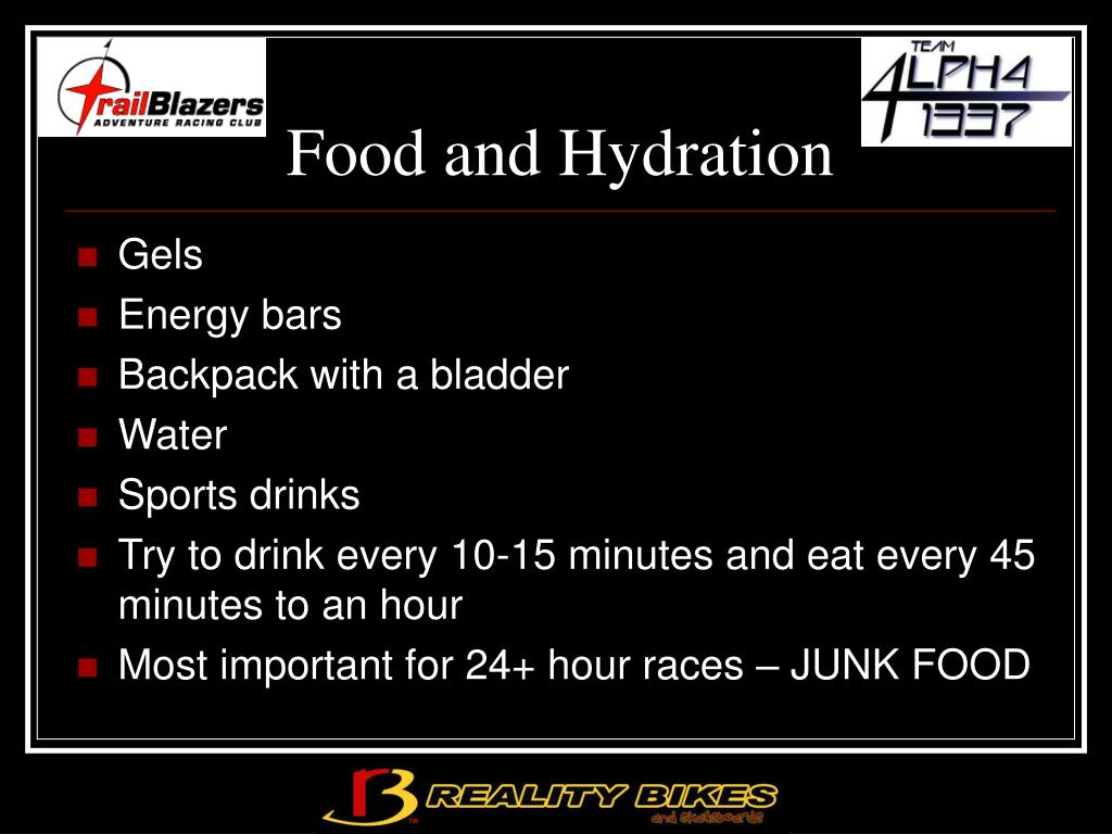 Food and Hydration