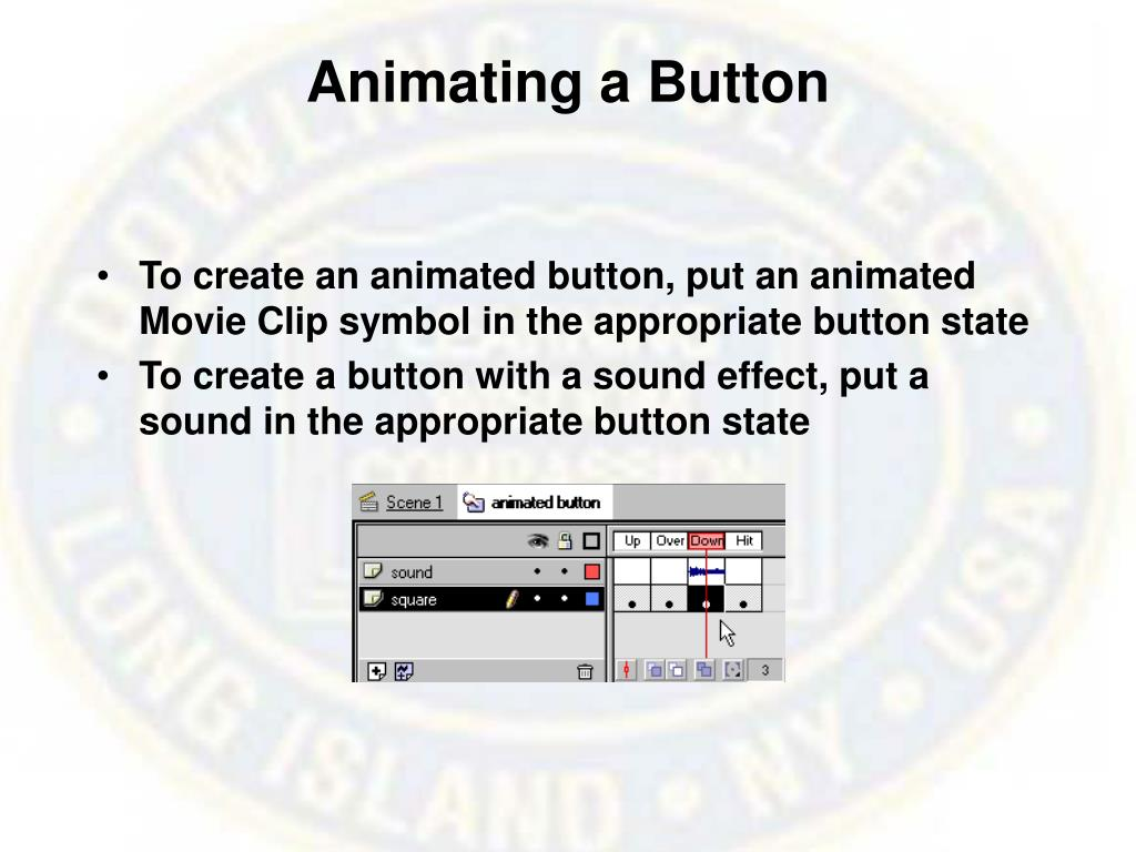 Animating a Button