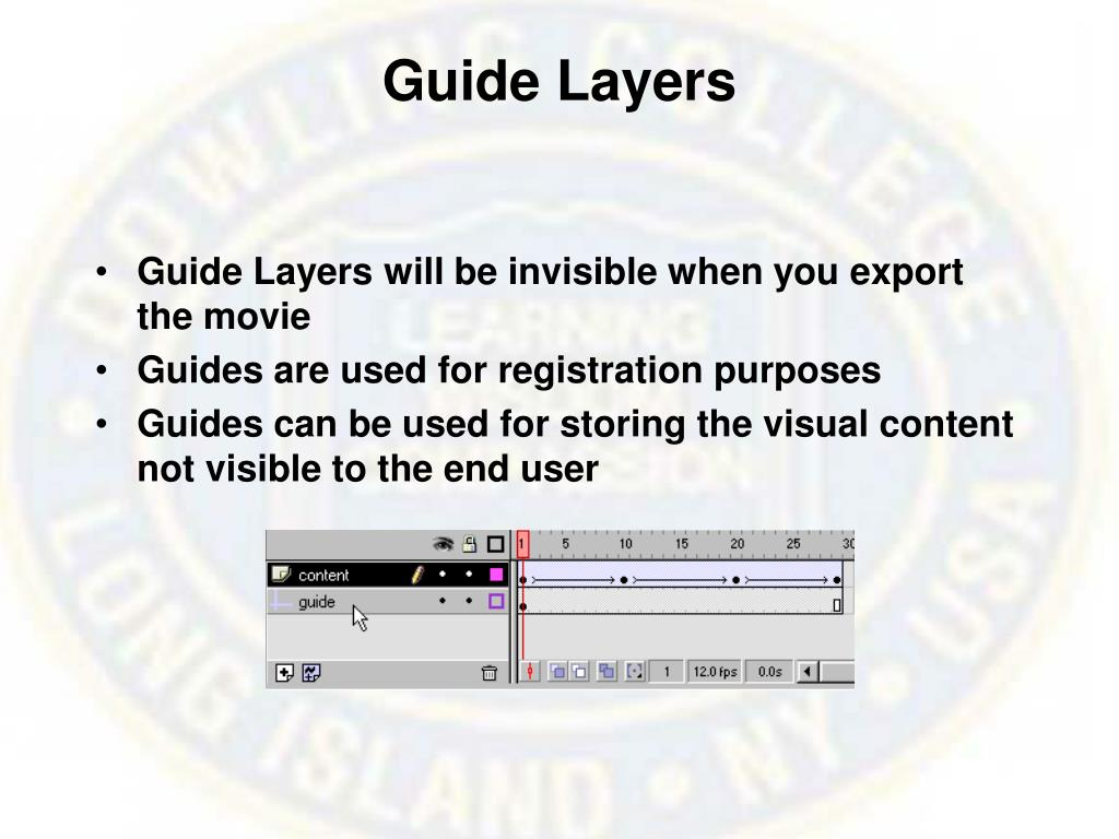 Guide Layers