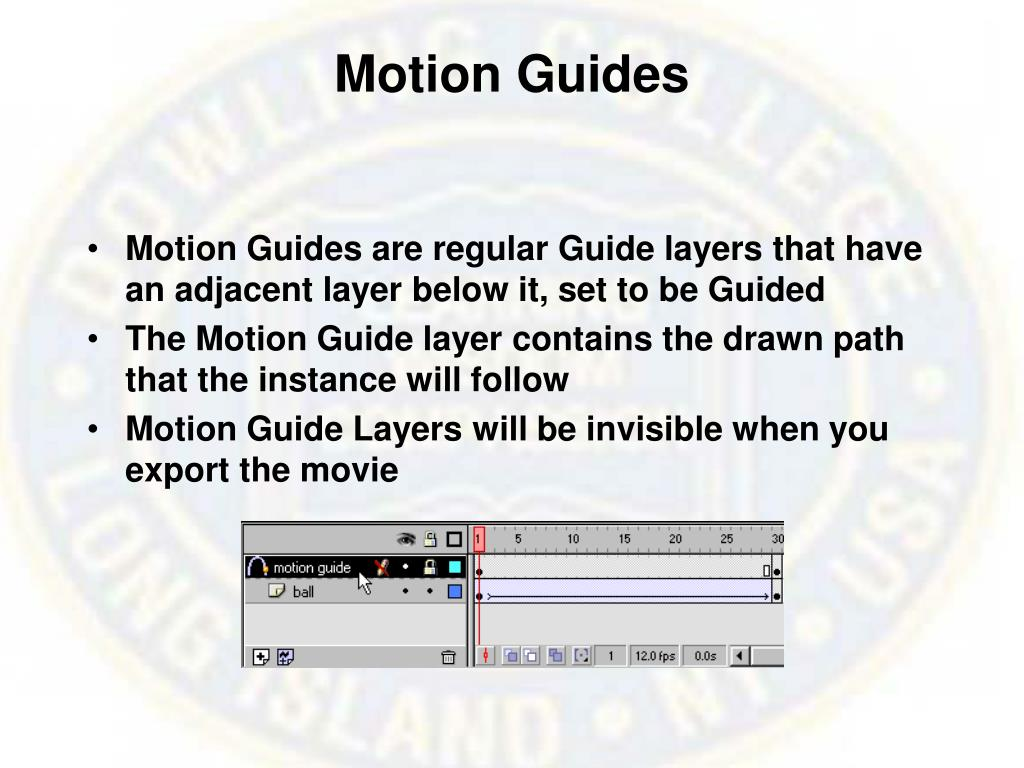 Motion Guides