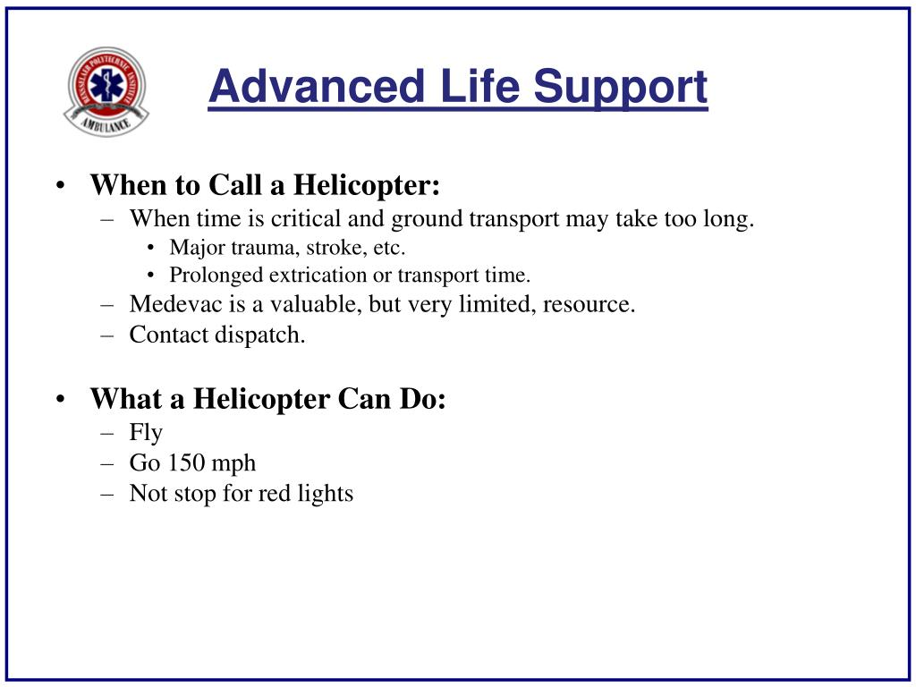 Advanced Life Support