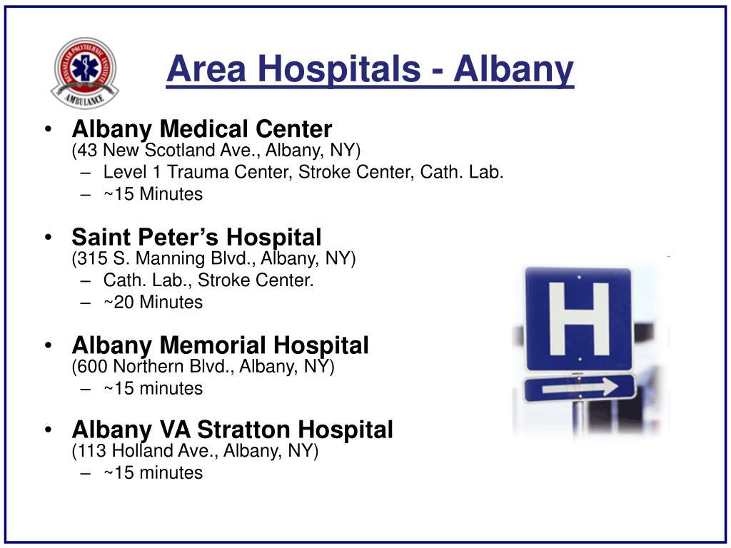Area Hospitals - Albany